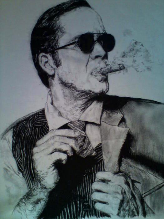 Nicolas Cage par Berniefire